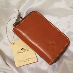 Patricia Nash Tan Abri Card Holder